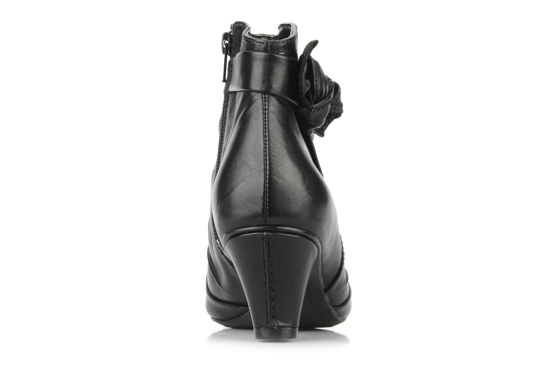 Boots en enkellaarsjes Clarks Krista azure Zwart rechts