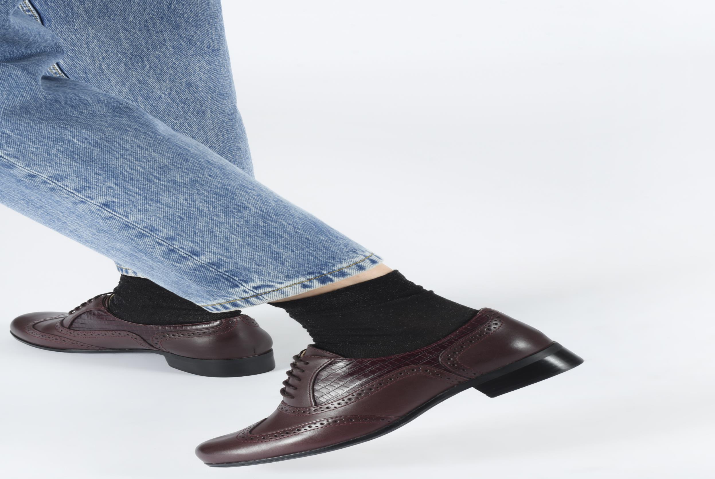 Chaussures à lacets Clarks Hamble Oak Multicolore vue bas / vue portée sac