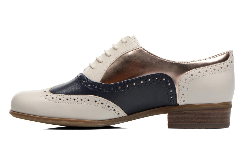 Chaussures à lacets Clarks Hamble Oak Multicolore vue face