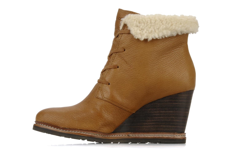 Boots en enkellaarsjes Marc O'Polo Julietta Bruin voorkant