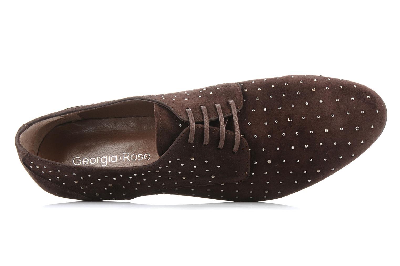 Chaussures à lacets Georgia Rose Perly Marron vue gauche