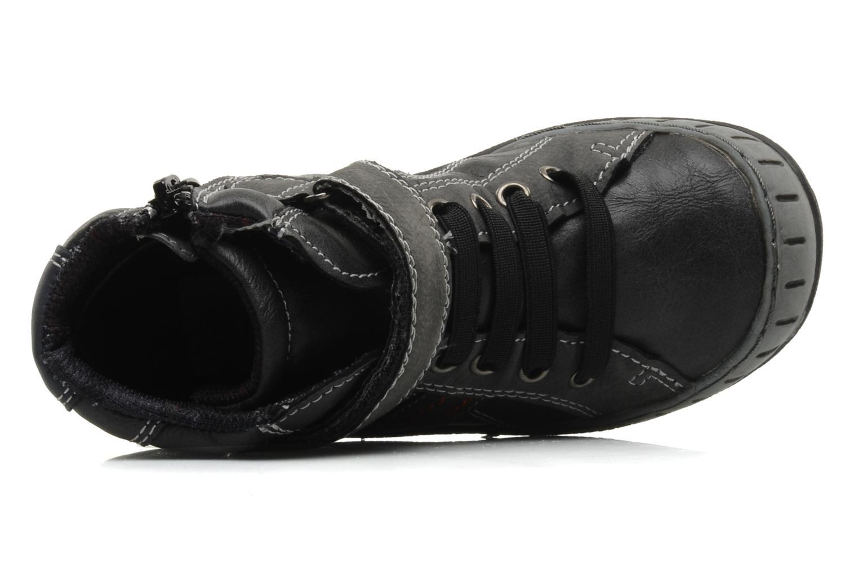 Bottines et boots I Love Shoes Alpiniste Noir vue gauche