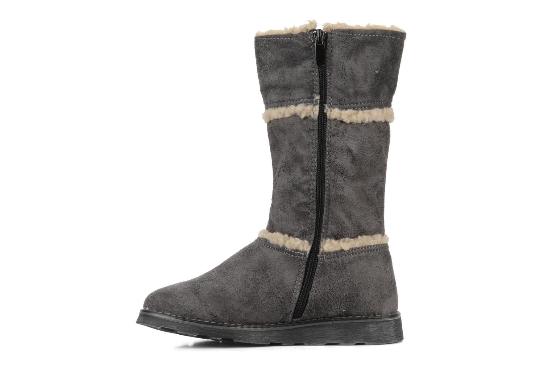 Stiefel I Love Shoes Fashion grau ansicht von vorne