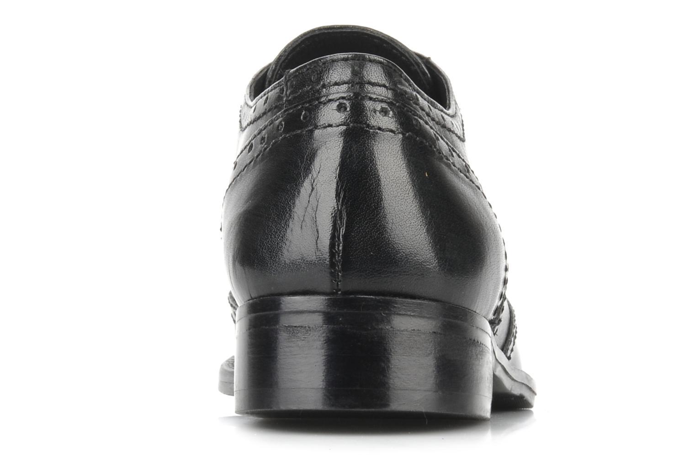 Chaussures à lacets Georgia Rose Dodda Noir vue droite