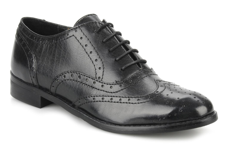 Chaussures à lacets Georgia Rose Dodda Noir vue détail/paire