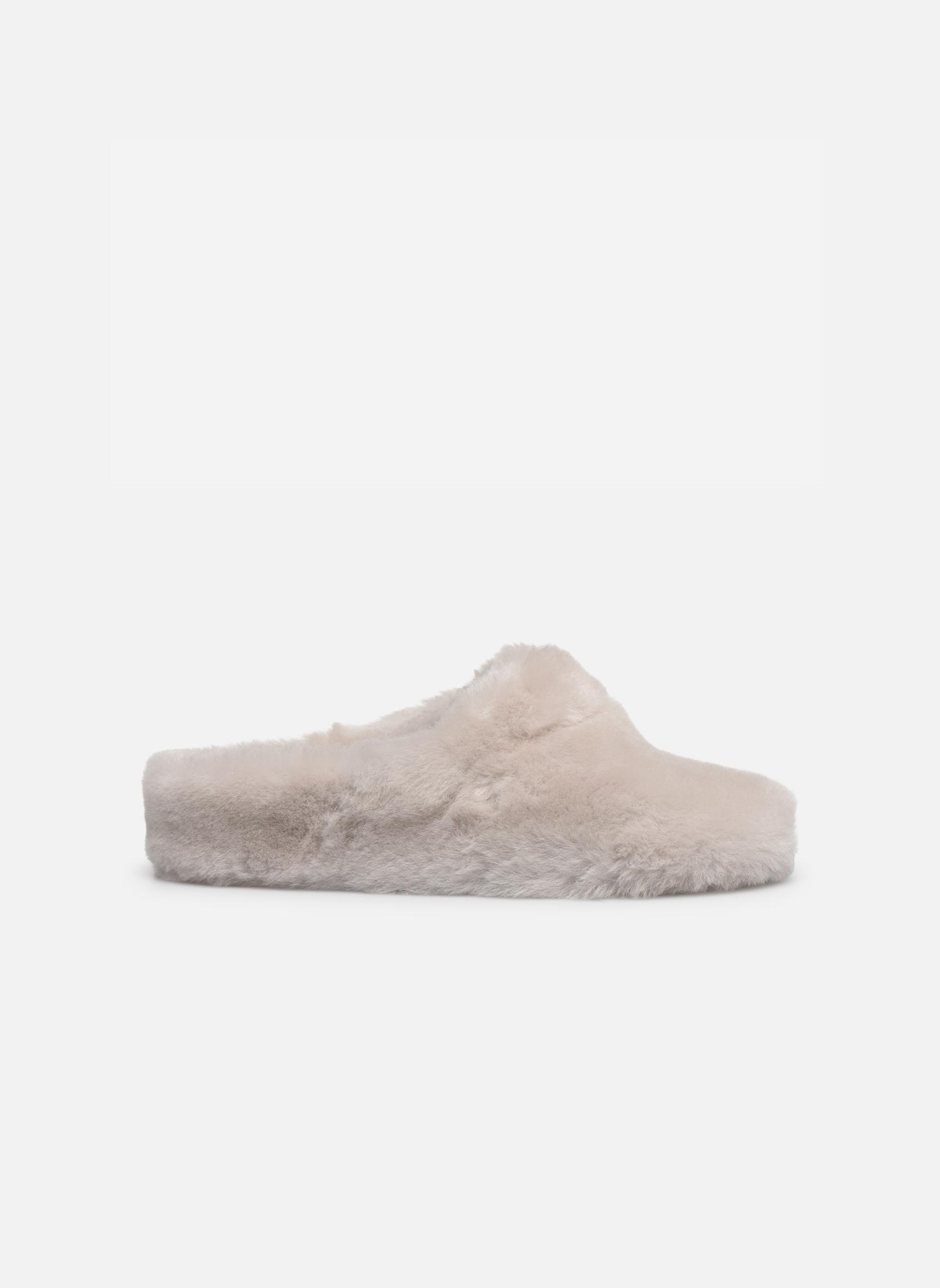 Pantoffels Giesswein Gerolding Wit achterkant