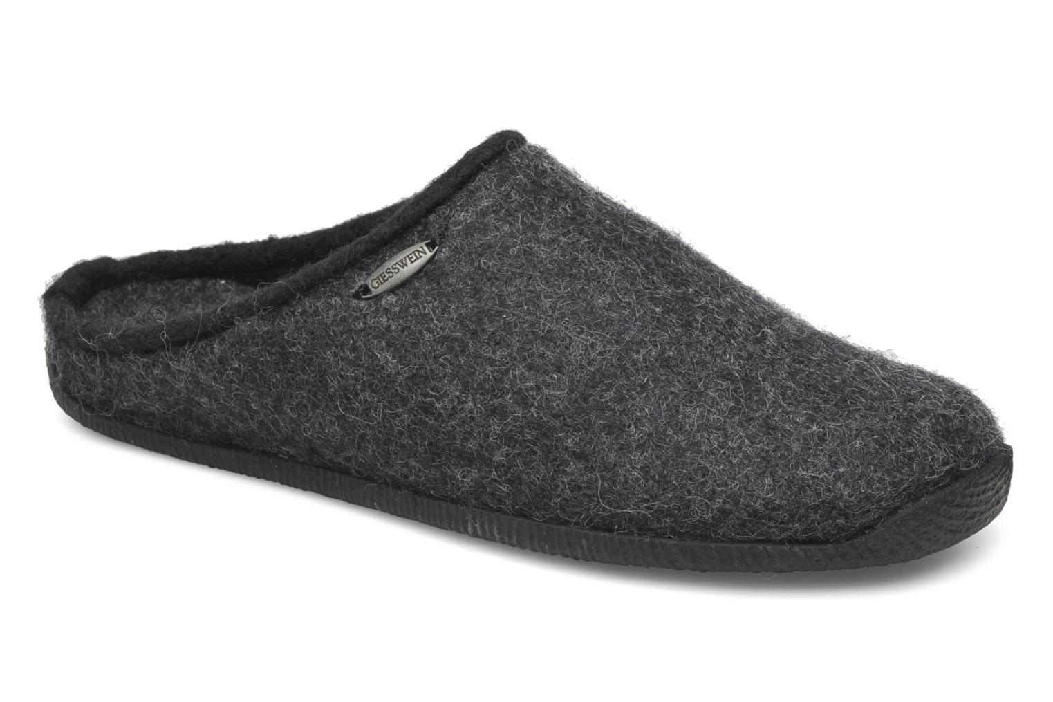 Slippers Giesswein Illsfeld Grey detailed view/ Pair view