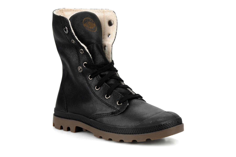 Boots en enkellaarsjes Palladium Baggy l s m Zwart 3/4'