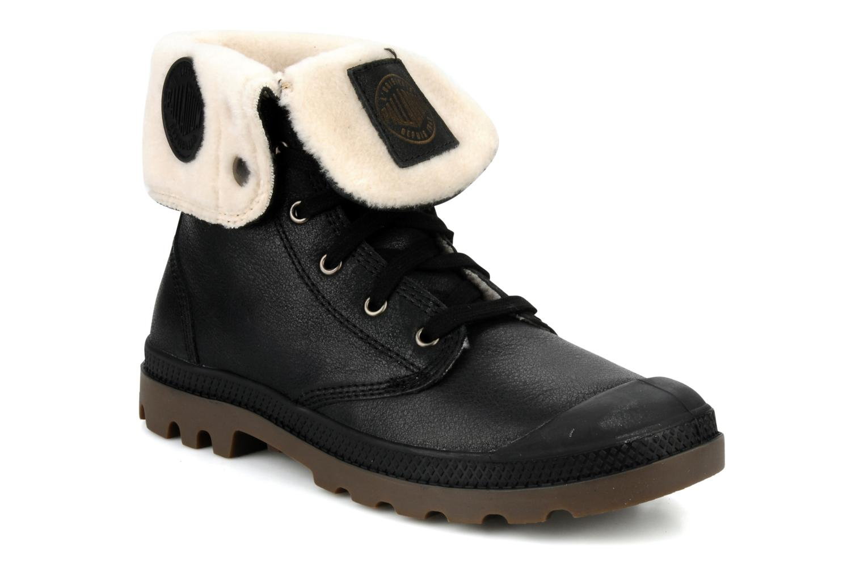 Boots en enkellaarsjes Palladium Baggy l s m Zwart detail