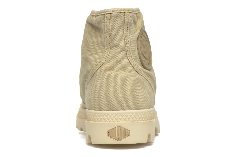 Sneakers Palladium Us pampa hi w Beige rechts
