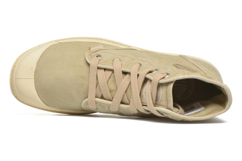 Sneaker Palladium Us pampa hi w beige ansicht von links