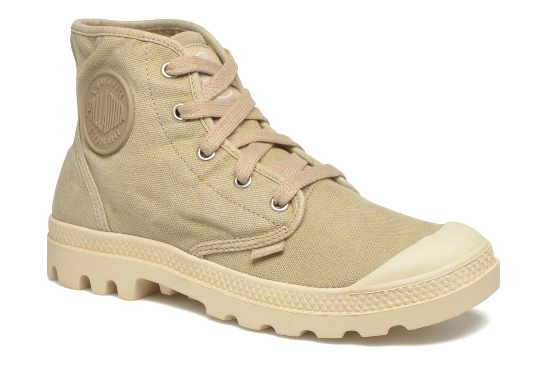 Sneakers Palladium Us pampa hi w Beige detail