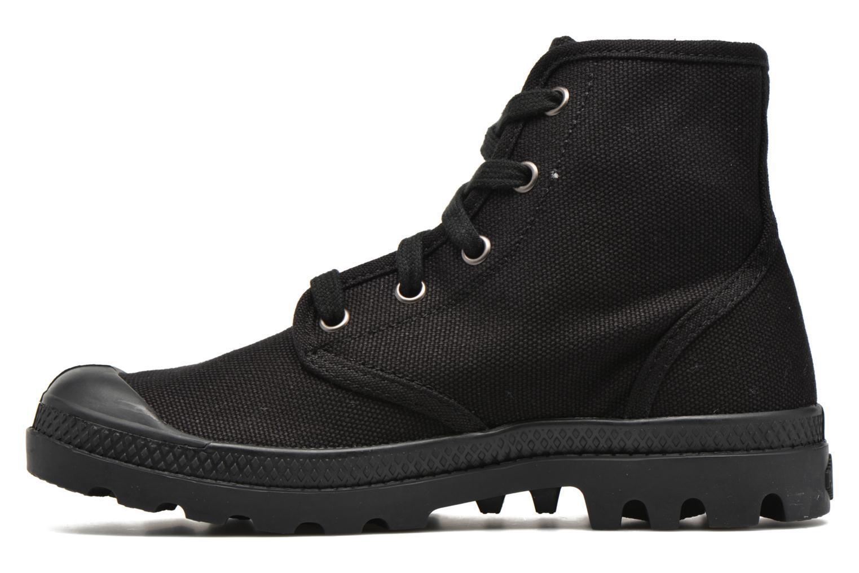Sneaker Palladium Us pampa hi w schwarz ansicht von vorne