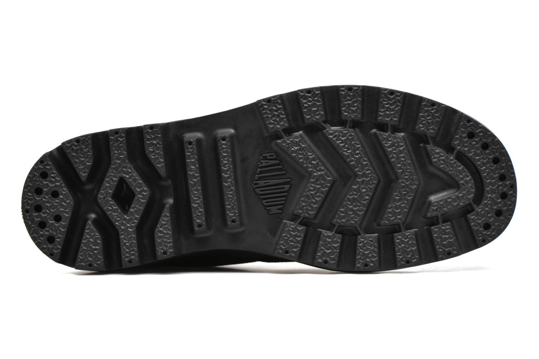 Sneaker Palladium Us pampa hi w schwarz ansicht von oben