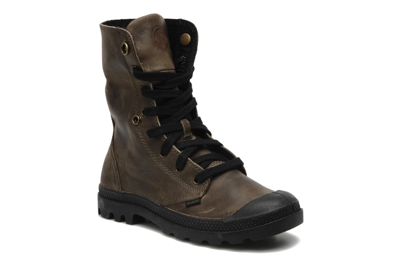 Sneaker Palladium Baggy leather w grau 3 von 4 ansichten