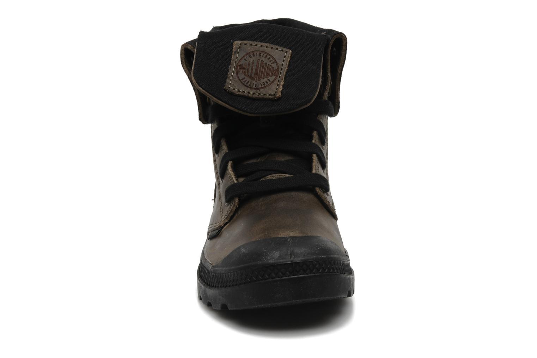 Sneaker Palladium Baggy leather w grau schuhe getragen