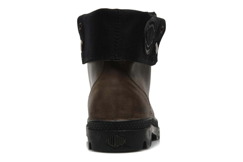 Sneaker Palladium Baggy leather w grau ansicht von rechts