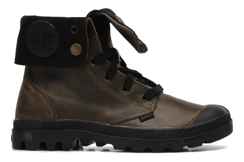 Sneaker Palladium Baggy leather w grau ansicht von hinten
