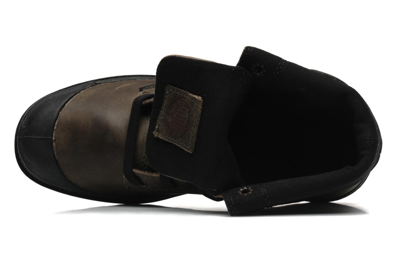 Sneaker Palladium Baggy leather w grau ansicht von links