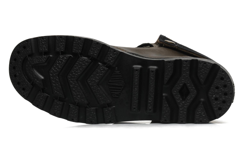 Sneaker Palladium Baggy leather w grau ansicht von oben