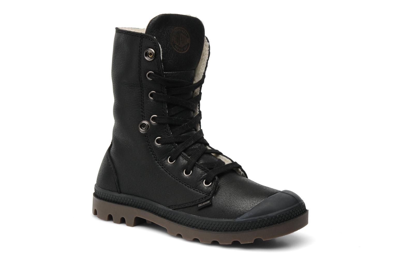 Boots en enkellaarsjes Palladium Baggy ls w Zwart 3/4'