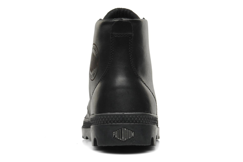 Sneaker Palladium Pampa hi leather w schwarz ansicht von rechts