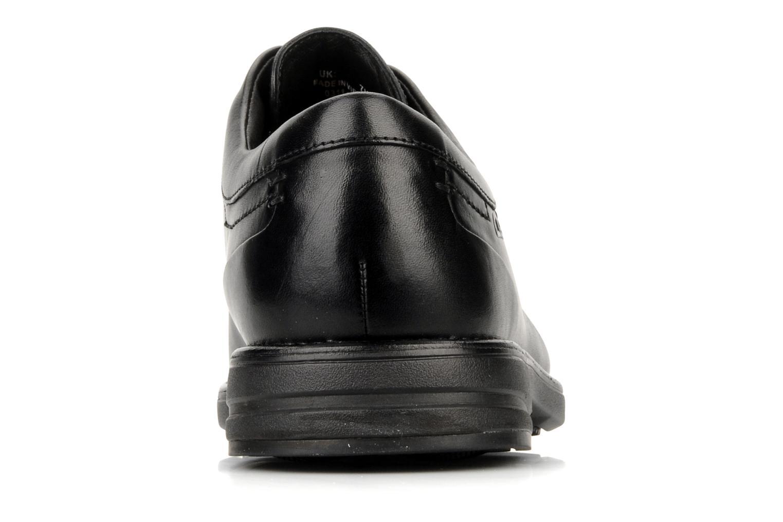 Chaussures à lacets Clarks Carter air Noir vue droite