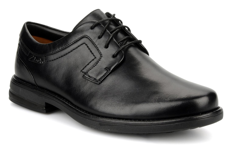 Schnürschuhe Clarks Carter air schwarz detaillierte ansicht/modell