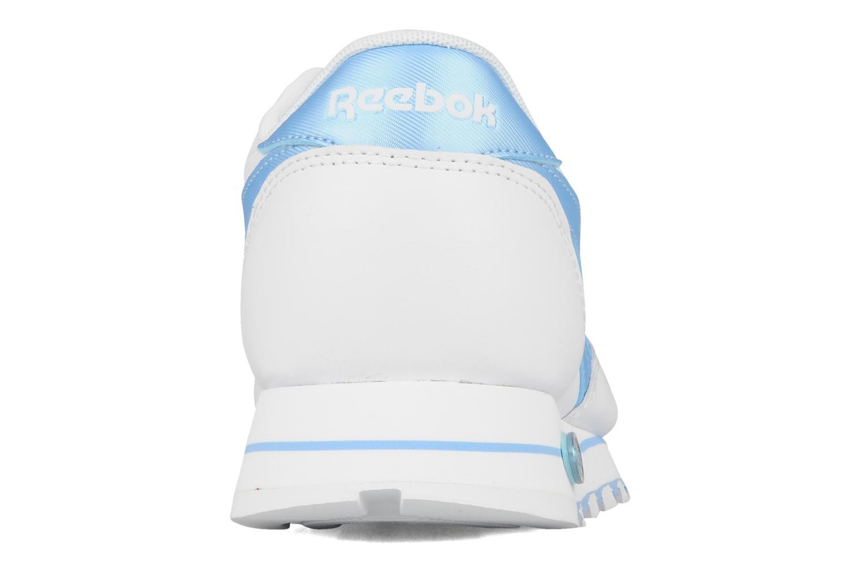 Baskets Reebok Cl lthr plug Blanc vue droite