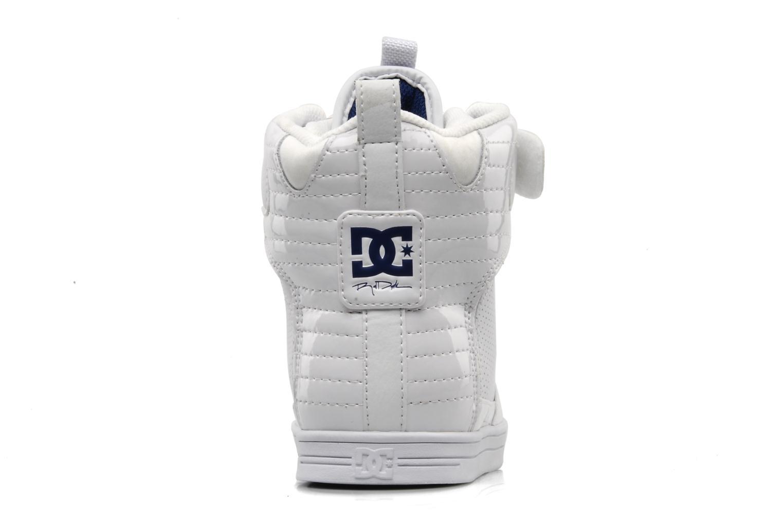 Scarpe sportive DC Shoes Royal Bianco immagine destra