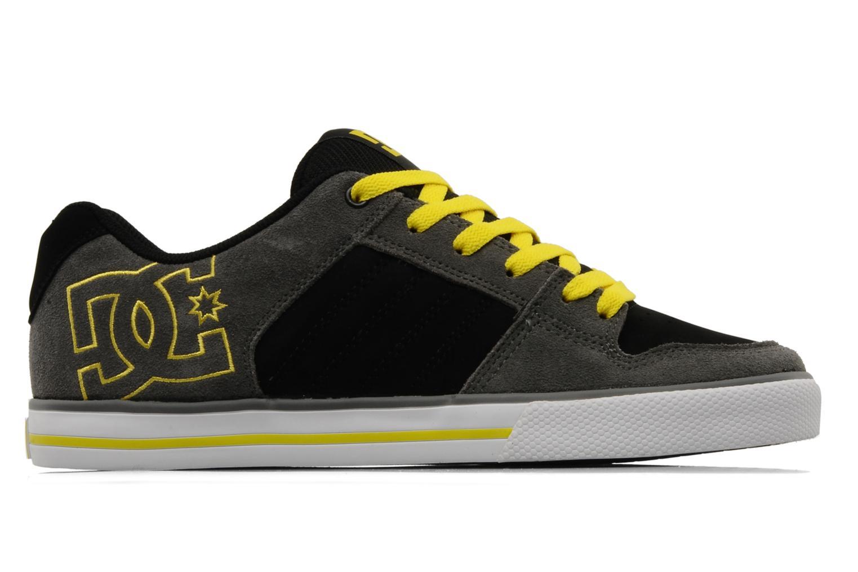 Sportschuhe DC Shoes Chase grau ansicht von hinten