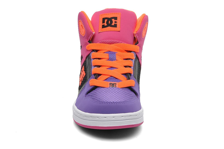Chaussures de sport DC Shoes Rebound k Multicolore vue portées chaussures
