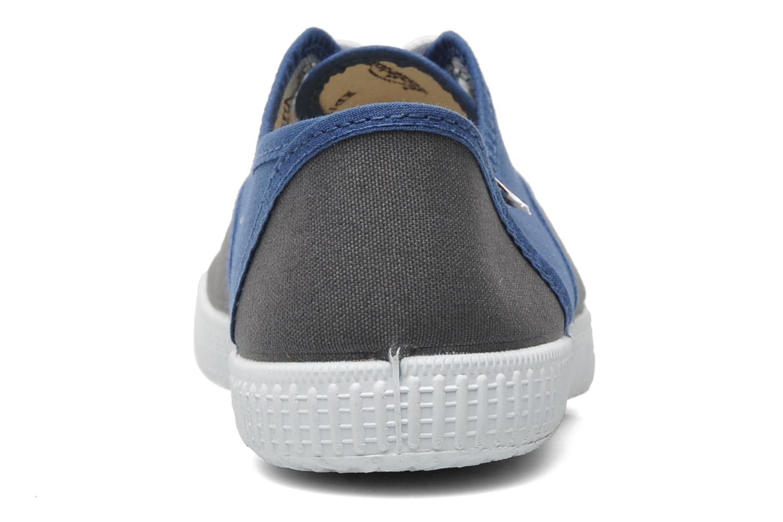 Baskets Victoria Victoria bicolore m Bleu vue droite