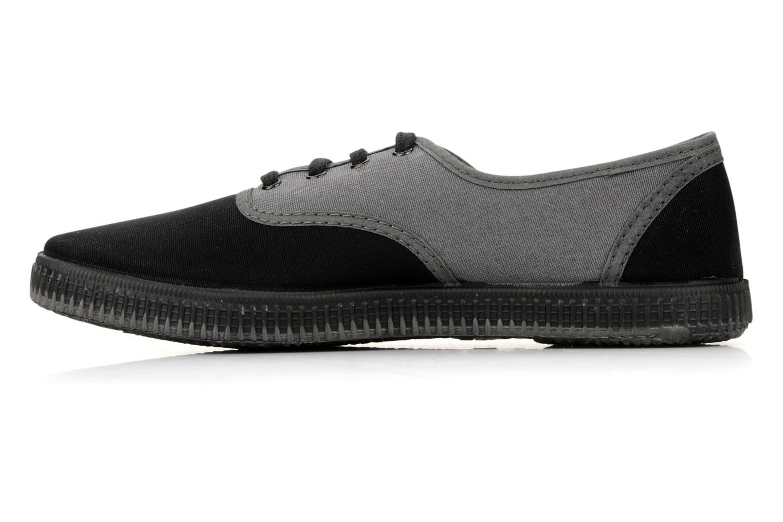 Sneaker Victoria Victoria bicolore m grau ansicht von vorne