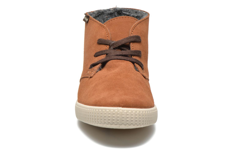 Sneaker Victoria Safari serraje W braun schuhe getragen