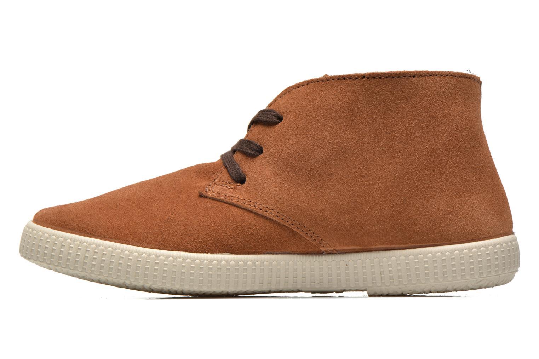 Sneaker Victoria Safari serraje W braun ansicht von vorne