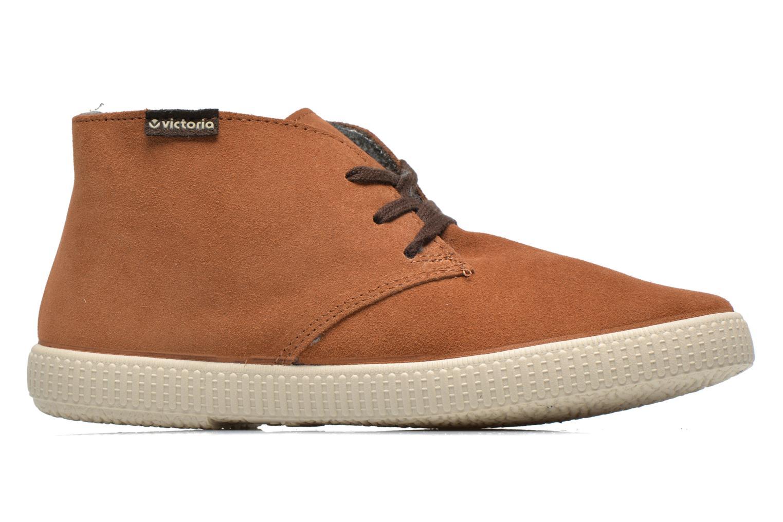 Sneaker Victoria Safari serraje W braun ansicht von hinten