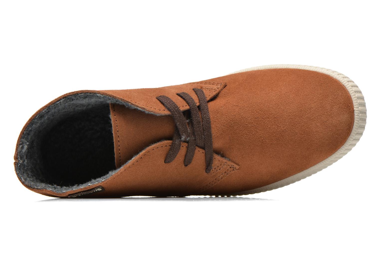 Sneaker Victoria Safari serraje W braun ansicht von links