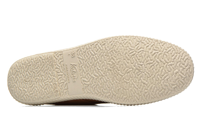 Sneaker Victoria Safari serraje W braun ansicht von oben