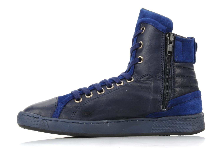 Sneaker Pataugas Justincvn e blau ansicht von vorne