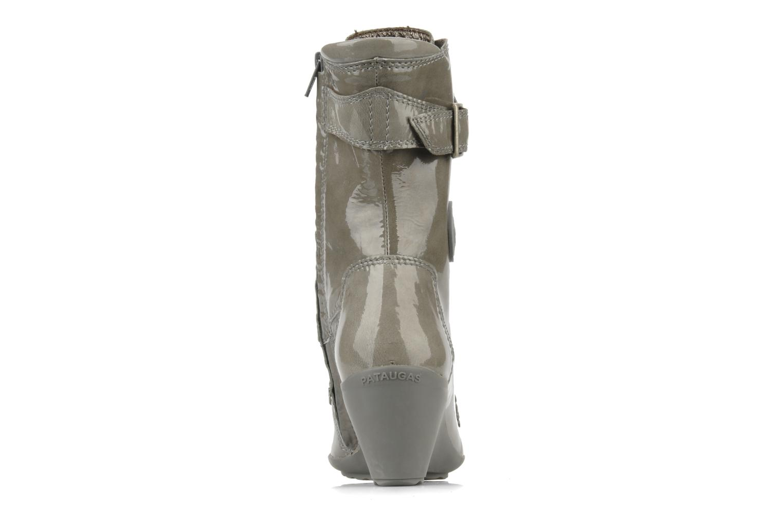 Bottines et boots Pataugas Leila w Gris vue droite
