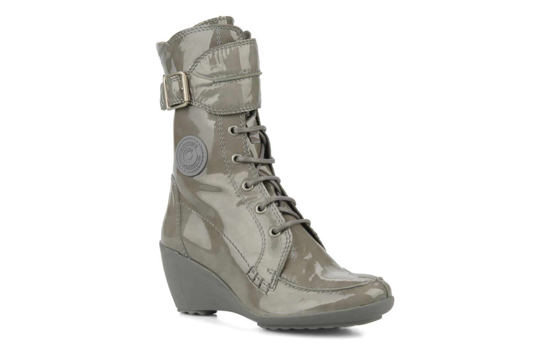 Bottines et boots Pataugas Leila w Gris vue détail/paire
