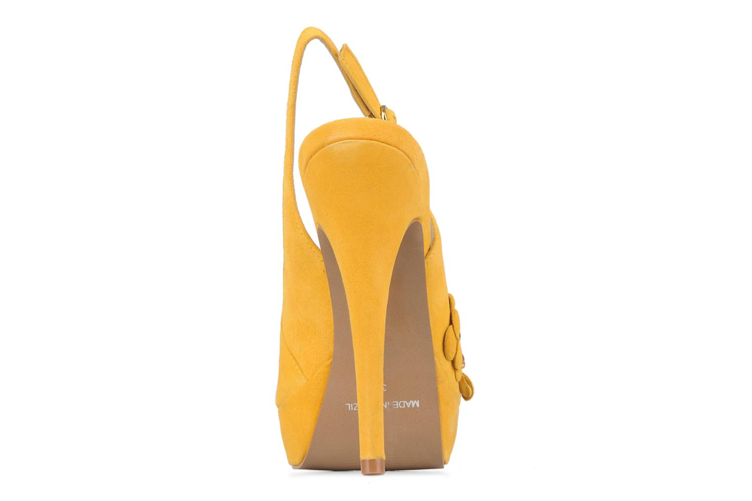 Sandals Carvela Gypsy Yellow view from the right