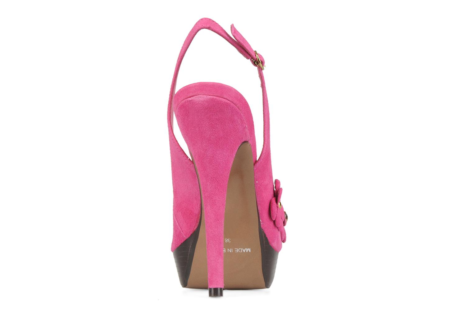 Sandals Carvela Gypsy Pink view from the right