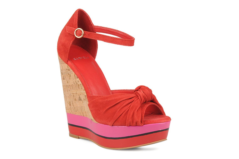 Sandales et nu-pieds Carvela Kennis Rouge vue détail/paire