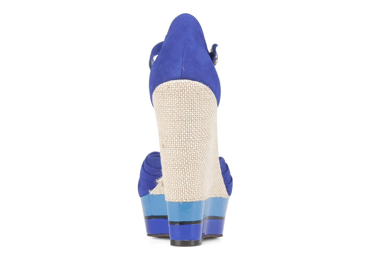 Sandali e scarpe aperte Carvela Kennis Azzurro immagine destra