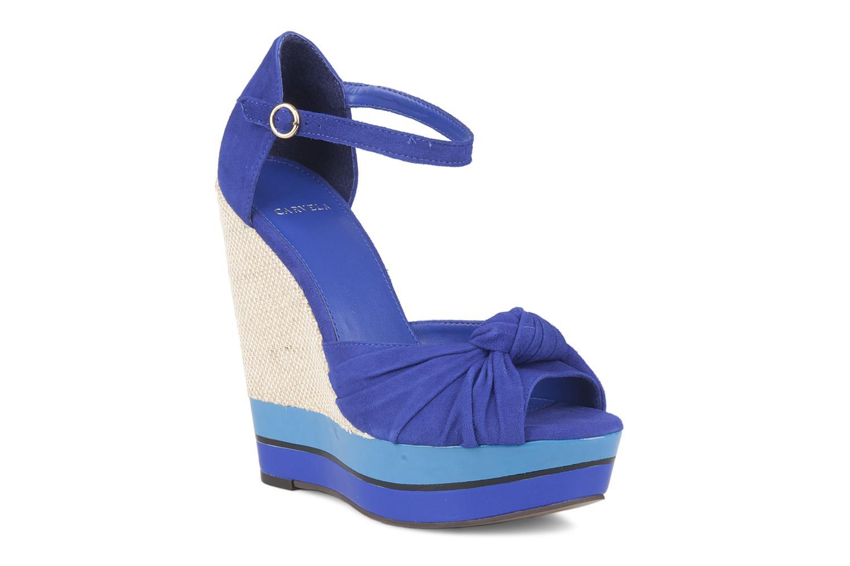 Sandalias Carvela Kennis Azul vista de detalle / par