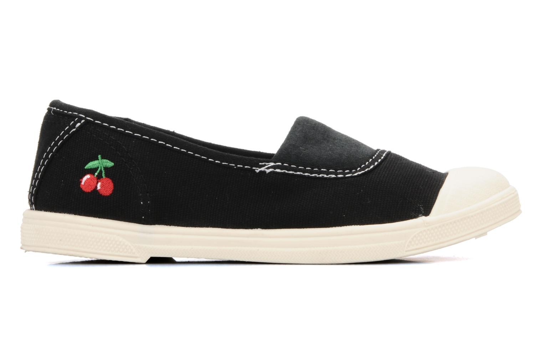 Sneaker Le temps des cerises Basic 01 schwarz ansicht von hinten