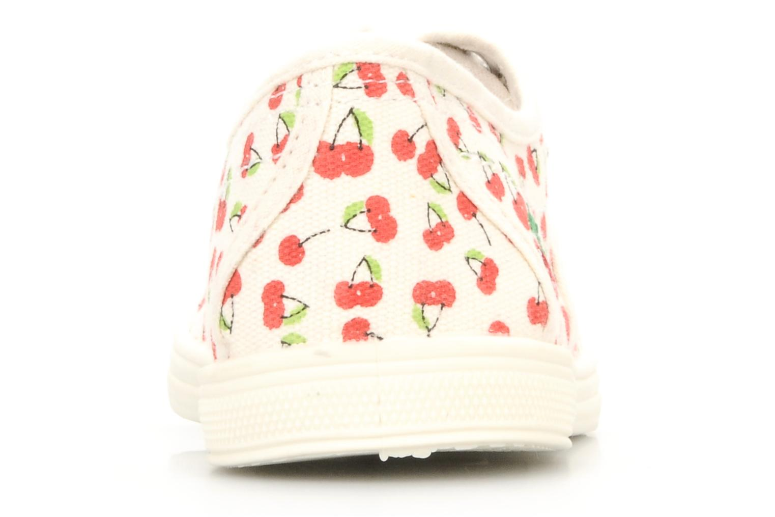 Trainers Le temps des cerises Basic bali Multicolor view from the right