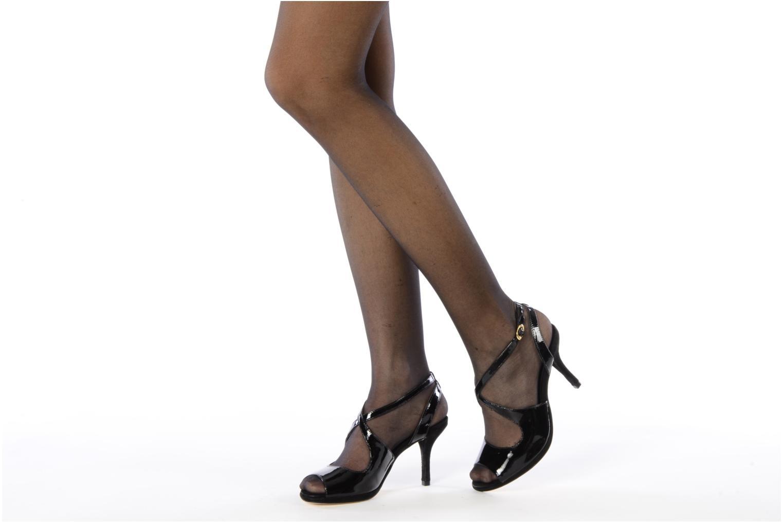 Sandalen Studio TMLS Galine schwarz ansicht von unten / tasche getragen